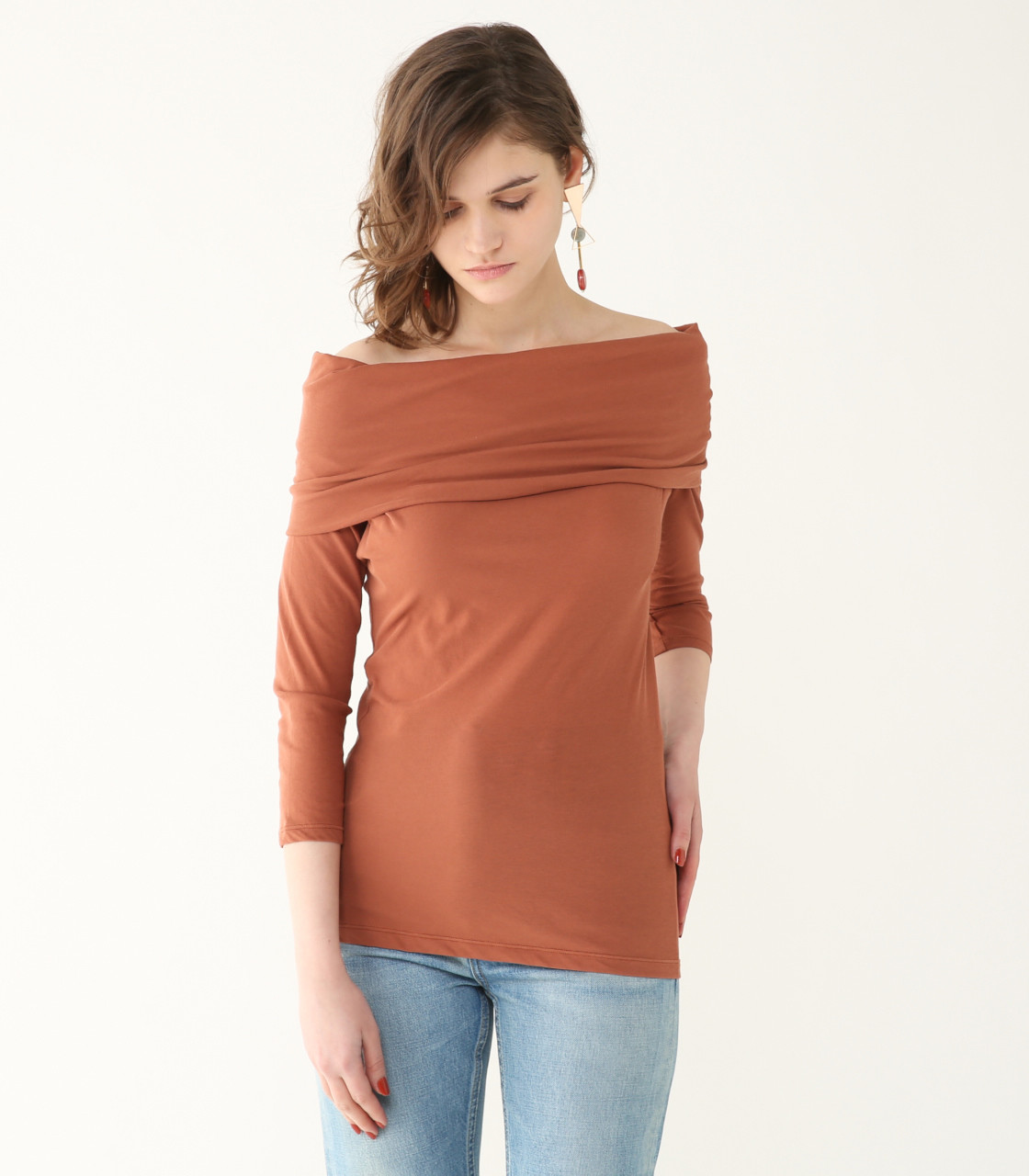 Rabatine collar cut TOPS