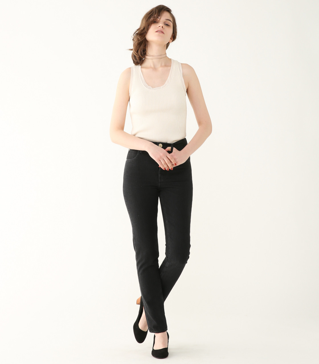 HUILA long black Denim