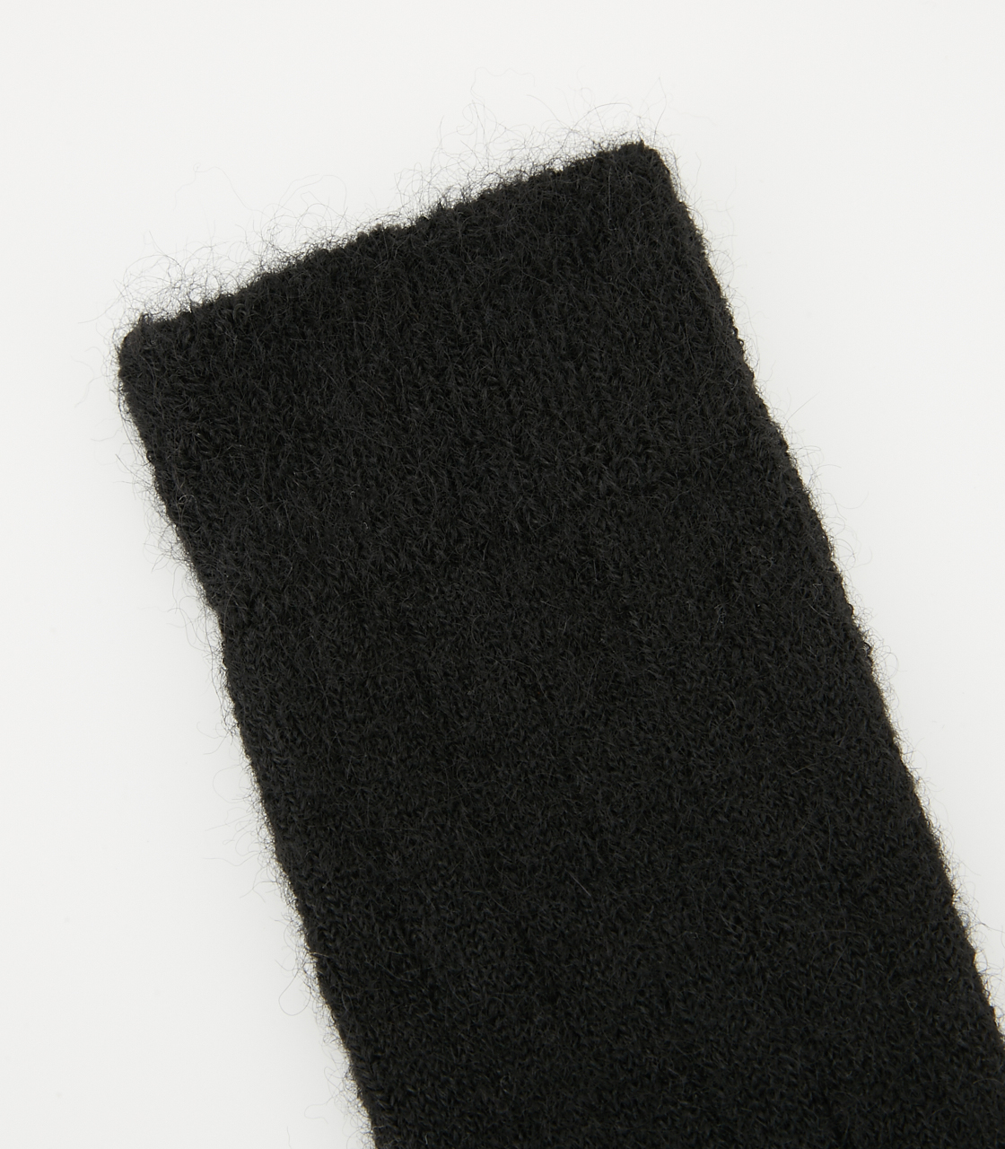 BLACK BY MOUSSY(ブラックバイマウジー) |alpaca mix socks