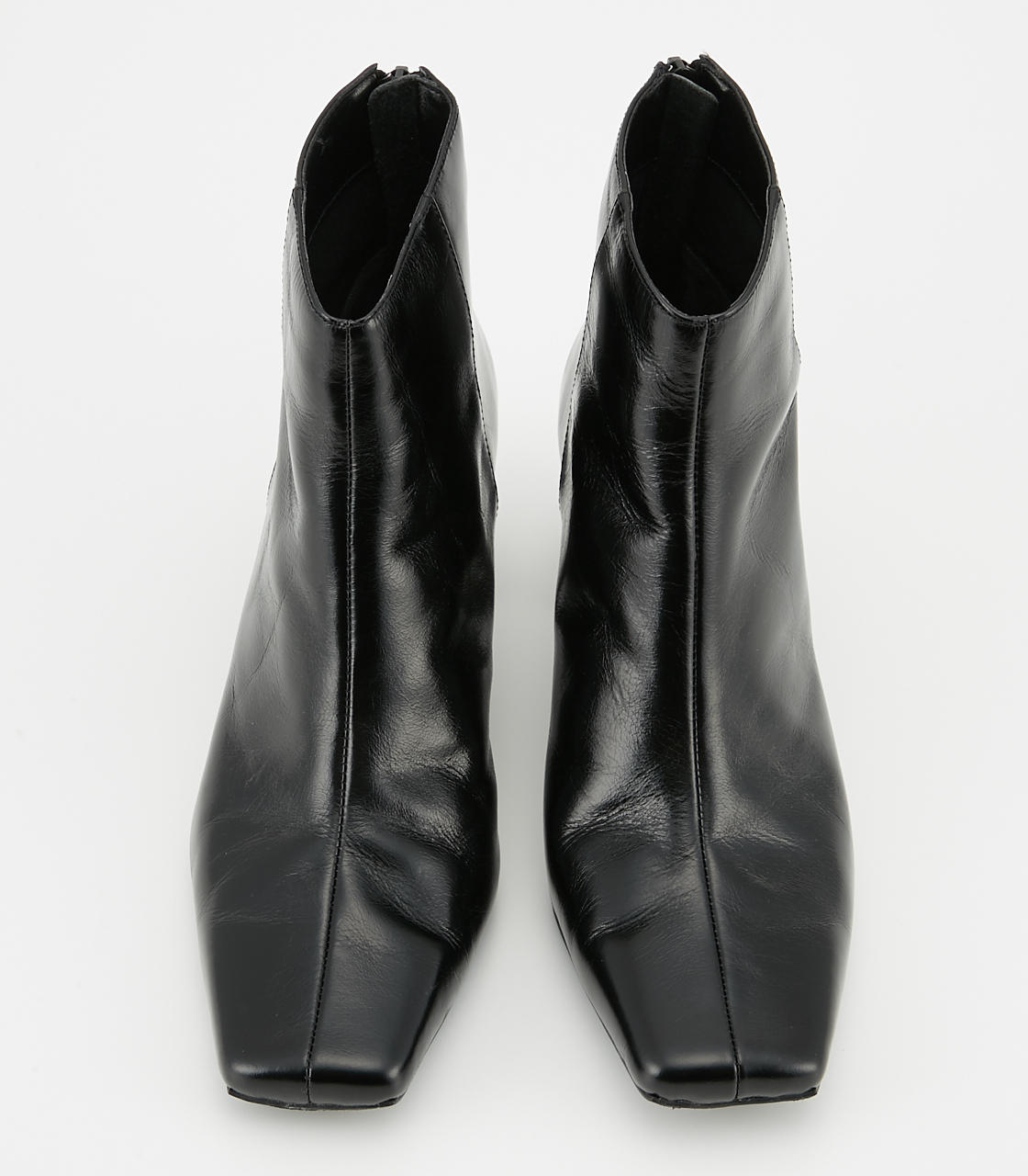 BLACK BY MOUSSY(ブラックバイマウジー) |dewy leather boots