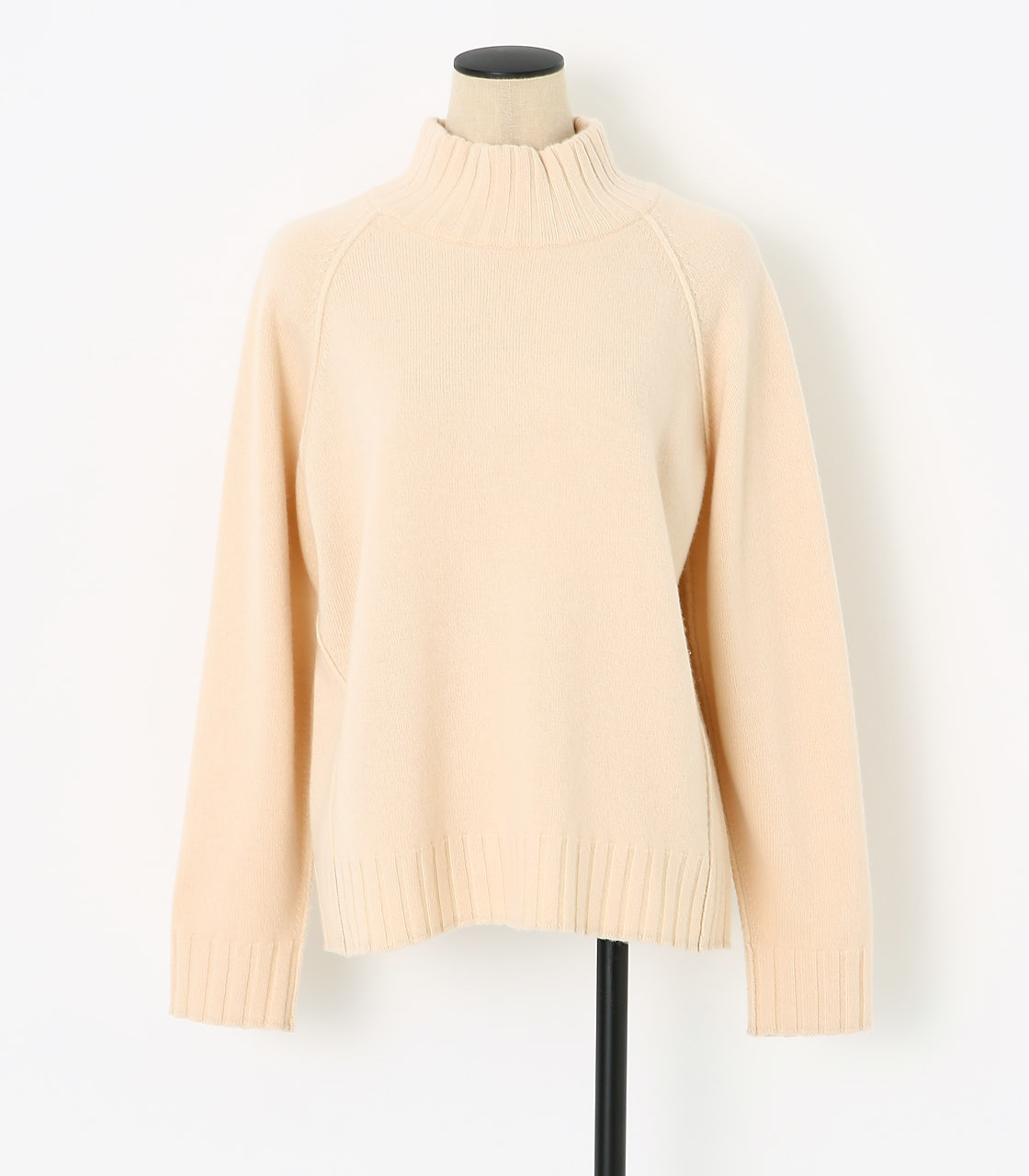 BLACK BY MOUSSY(ブラックバイマウジー) |loose knit tops(O/WHT)