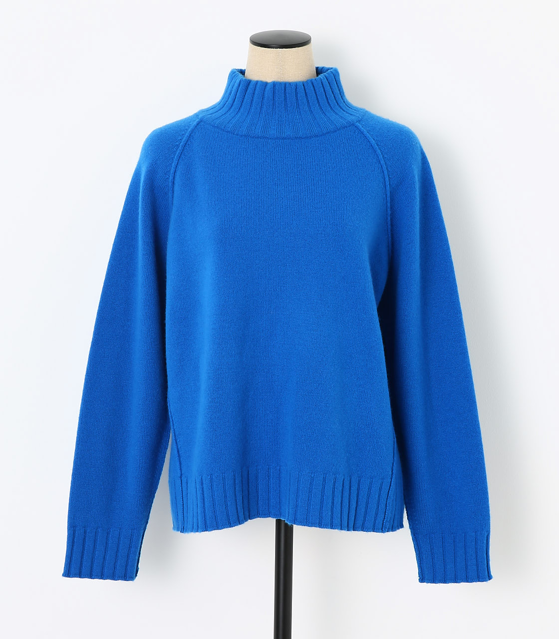 BLACK BY MOUSSY(ブラックバイマウジー) |loose knit tops(BLU)