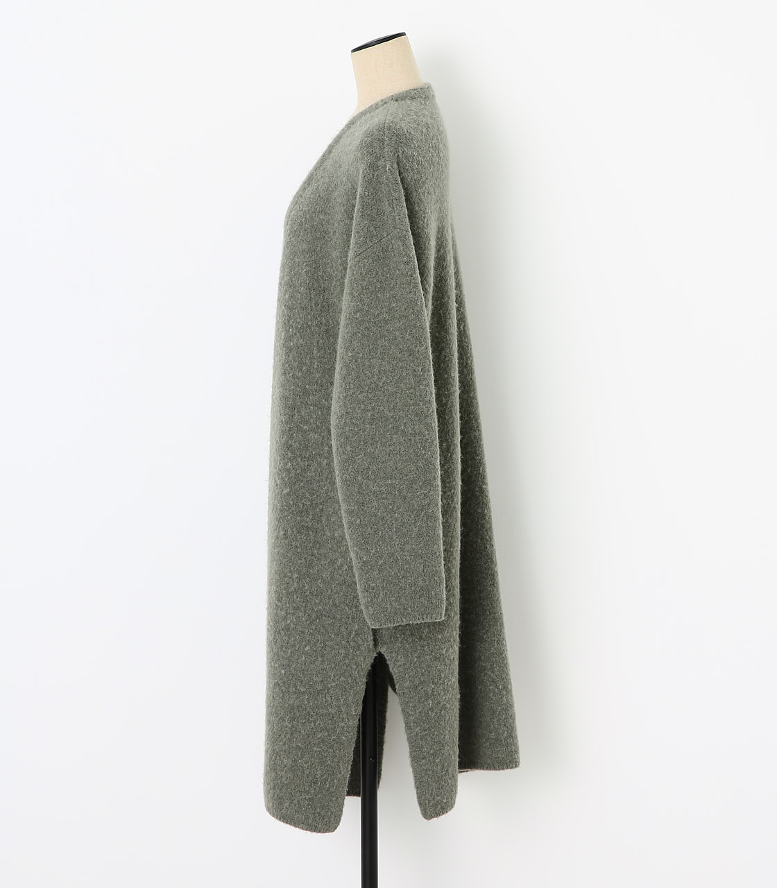 BLACK BY MOUSSY(ブラックバイマウジー) |loose knit cardigan