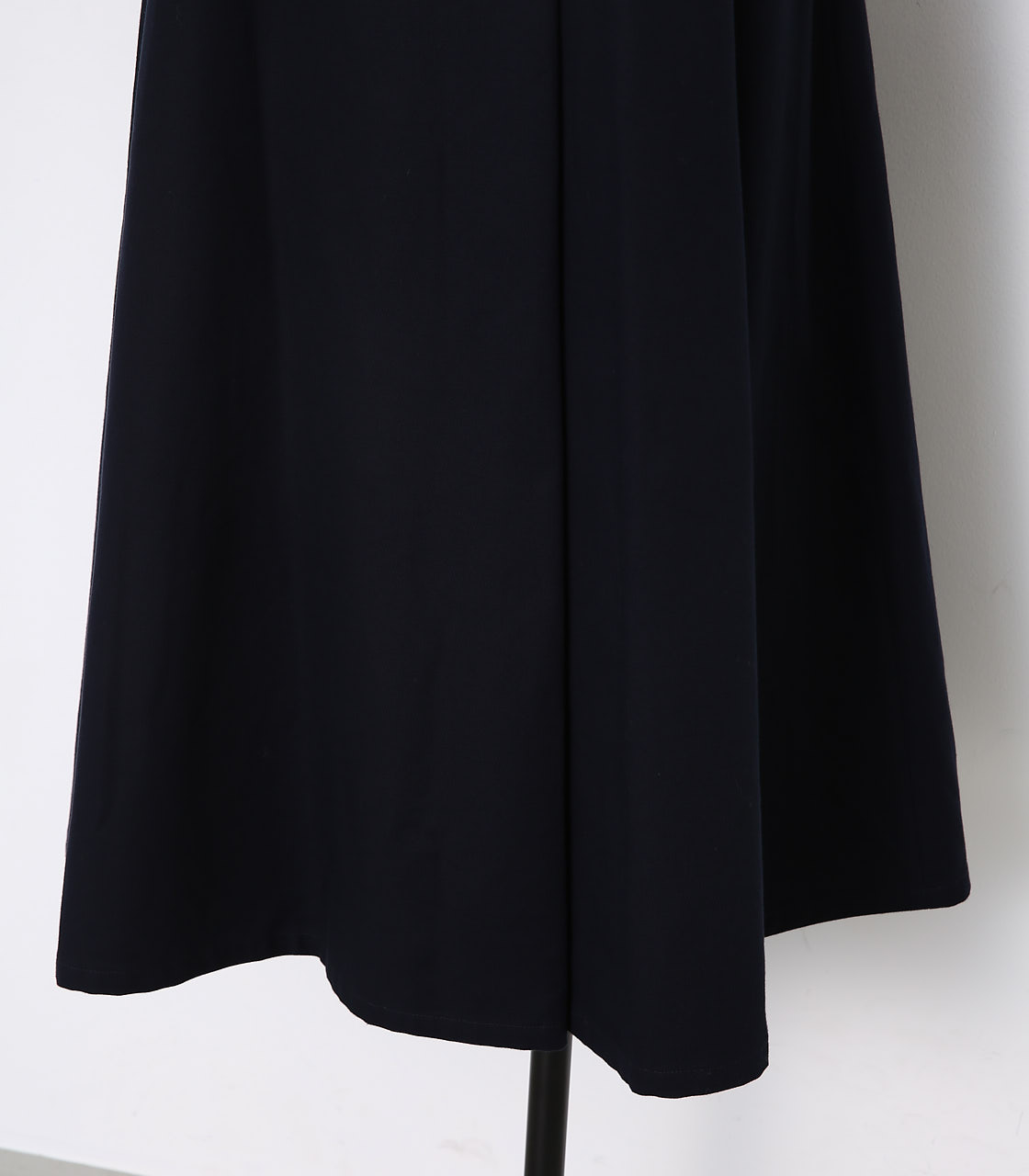 BLACK BY MOUSSY(ブラックバイマウジー) |wide belt flare long sk