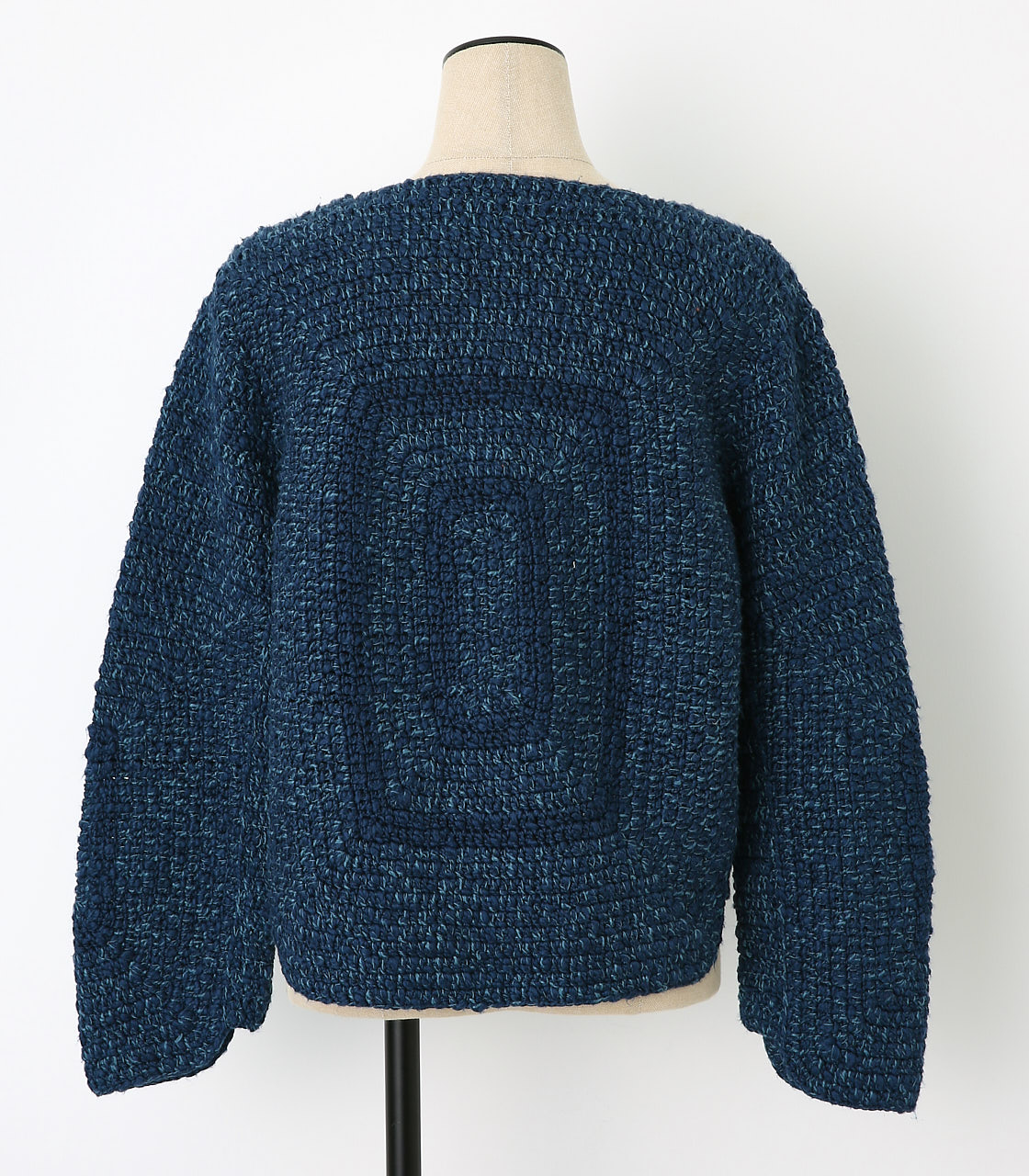 BLACK BY MOUSSY(ブラックバイマウジー) |crochet knit tops