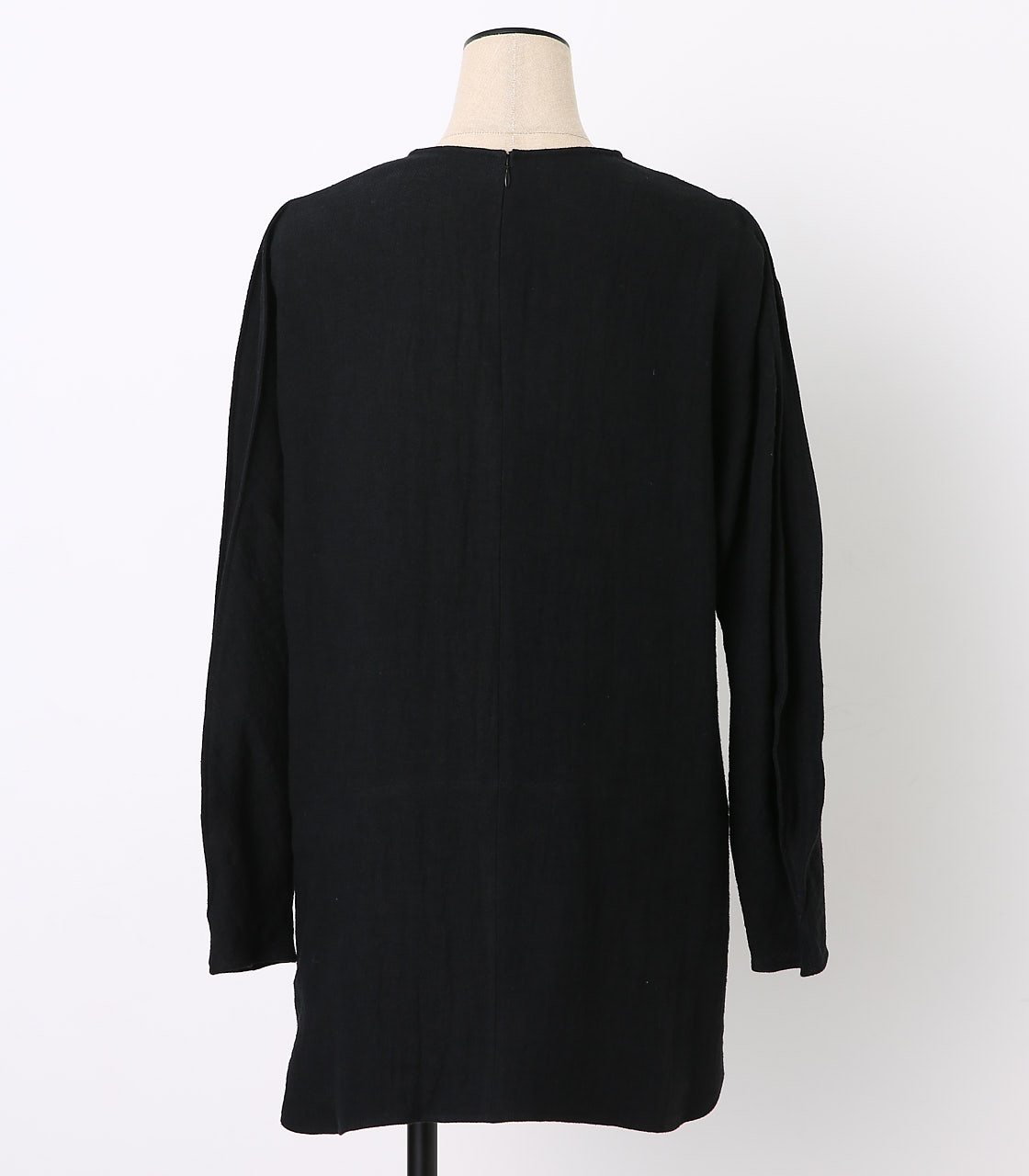 BLACK BY MOUSSY(ブラックバイマウジー) |cocoon sleeve ramie tops