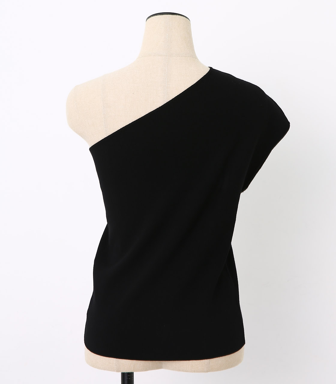 BLACK BY MOUSSY(ブラックバイマウジー) |washable one shoulder tops