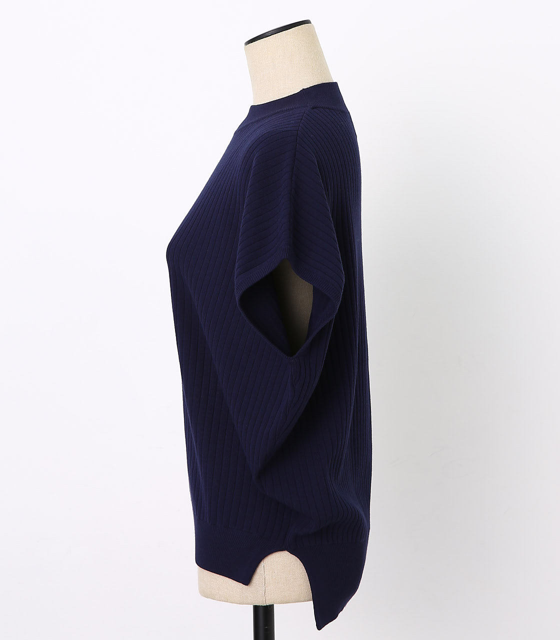 BLACK BY MOUSSY(ブラックバイマウジー) |washable yacco rib tops