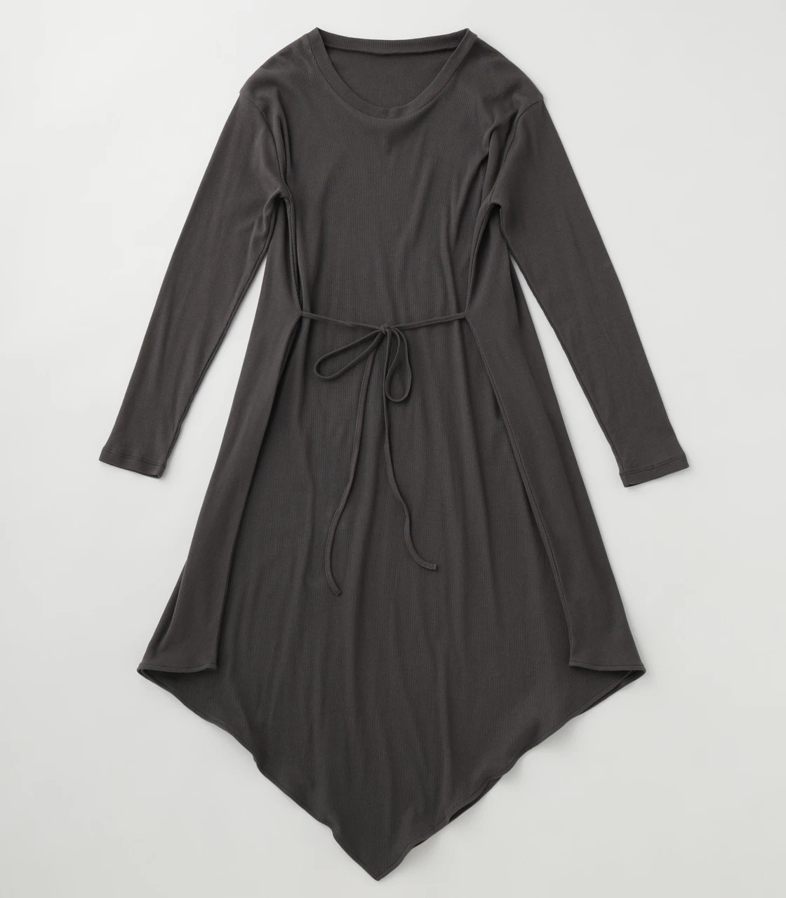 BLACK BY MOUSSY(ブラックバイマウジー) |2way drape tereco one-piece(C.GRY)